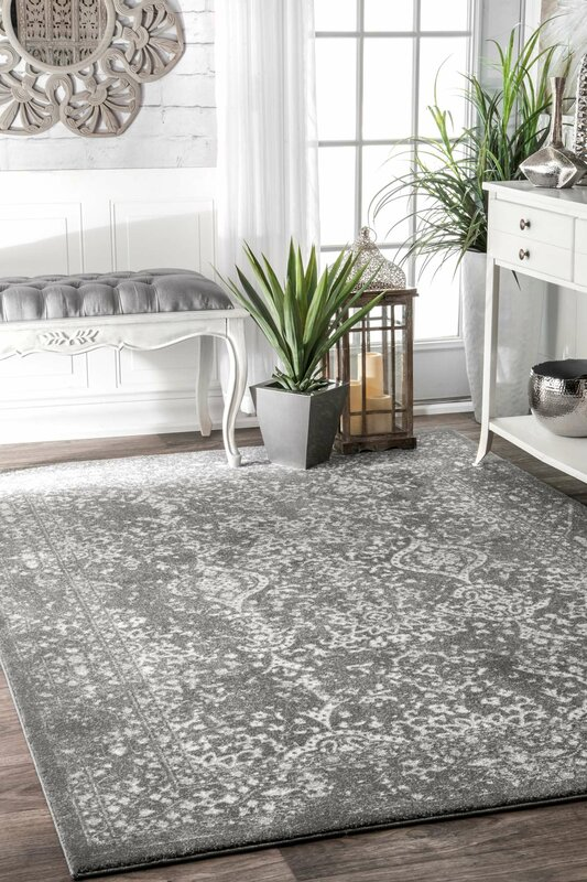 Dorothea Gray Area Rug Amp Reviews Allmodern
