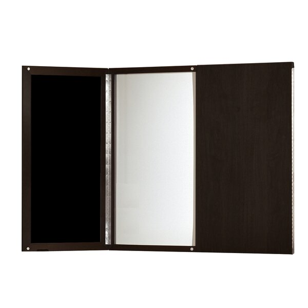Medina Series Enclosed Whiteboard, 48 x 48 by Mayline Group