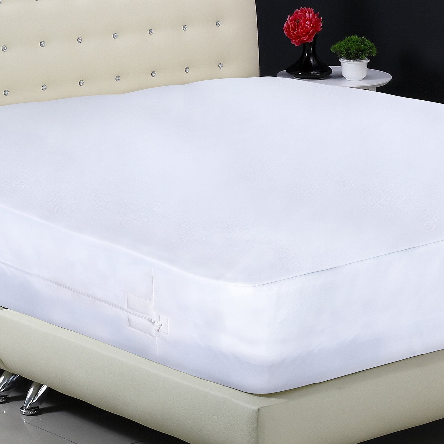 Ordinaire Protect A Bed Aller Zip Smooth Anti Allergy And Bed Bug Proof  Hypoallergenic Waterproof Mattress Protector U0026 Reviews | Wayfair