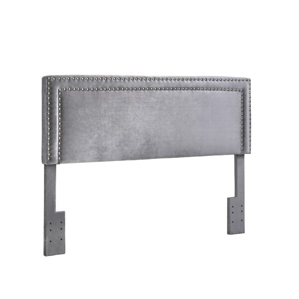 Voss Velvet Upholstered Panel Headboard by Mercer41