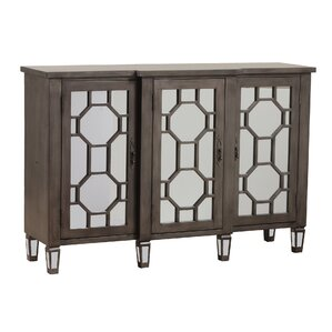 Hex Fret Sideboard by Bombay Heritage