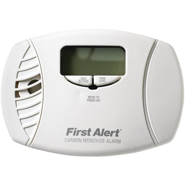 Carbon Monoxide Alarm with Backlit by First Alert