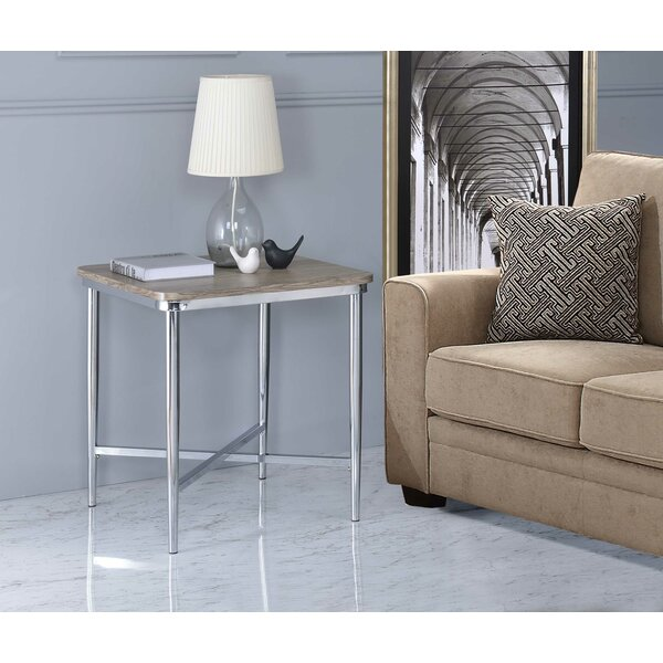 Harvin End Table by Orren Ellis