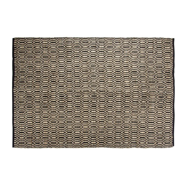 SunnyVale Hand-Woven Black Area Rug by Chesapeake Merchandising Inc.