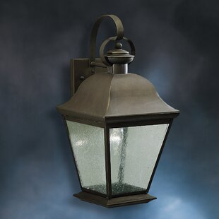 Comparison Darrah Traditional 1-Light Outdoor Wall Lantern By Three Posts
