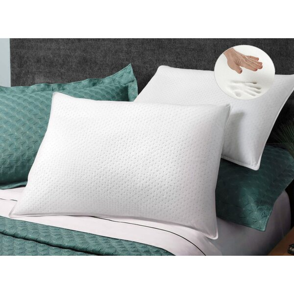 Giovanni Memory Foam Standard Pillow (Set of 2) by Luxor Linens