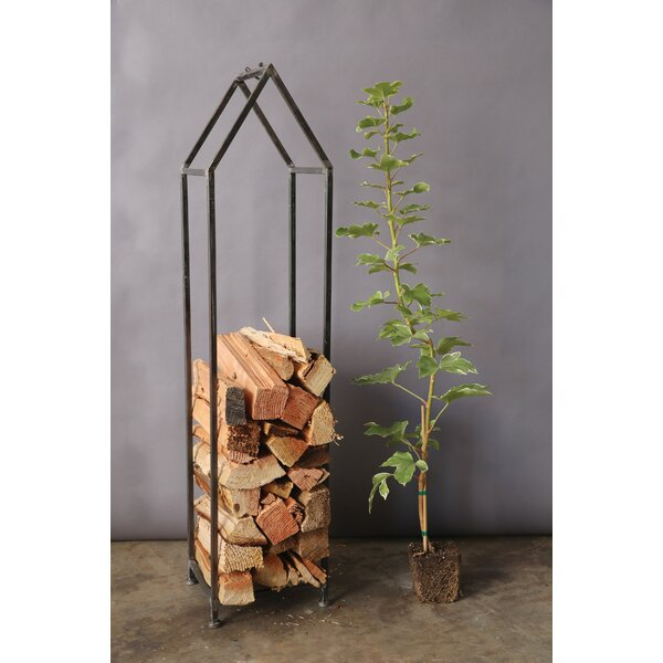 Wabansia Log Rack by Gracie Oaks