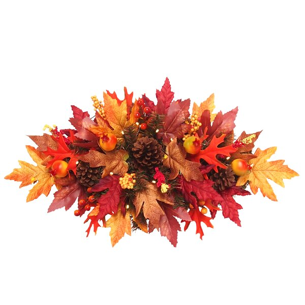 Maple 24 Lighted Wreath by The Holiday Aisle