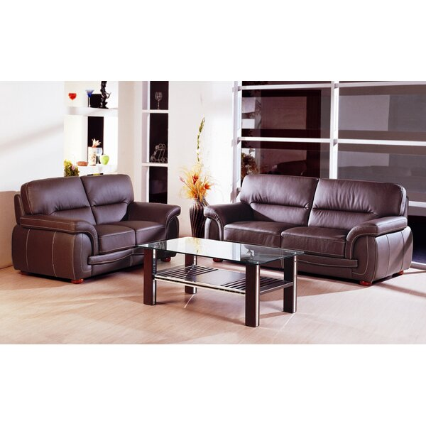 Leather Configurable Living Room Set by Hokku Designs