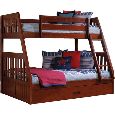 Eide Twin Over Full Bunk Bed With Slide Out Trundle