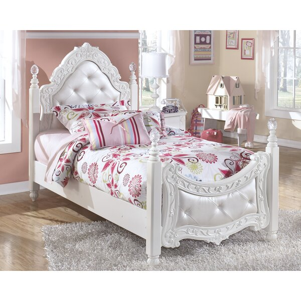 Tiana Four Poster Bed by Viv + Rae
