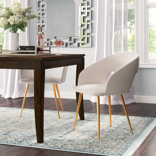Maen Upholstered Dining Chair by Willa Arlo Interiors