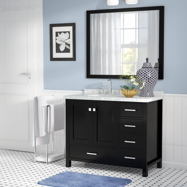 Marine 43 Wood Single Bathroom Vanity Set by Andover Mills