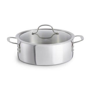 le creuset 7 5 quart dutch oven oval dutch qt triply stainless steel round dutch oven le creuset qt wayfair