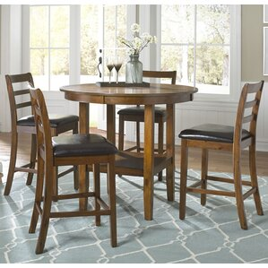 dunlap 5 piece pub table set