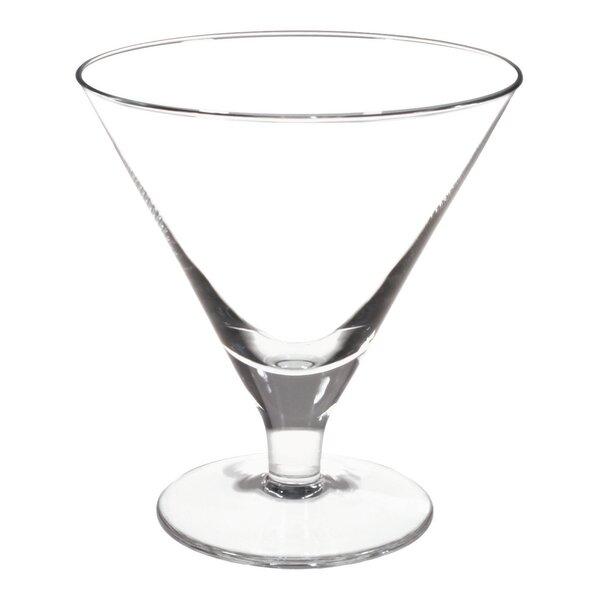 Beresford Tall Martini / Gelato Glass (Set of 4) by Ebern Designs