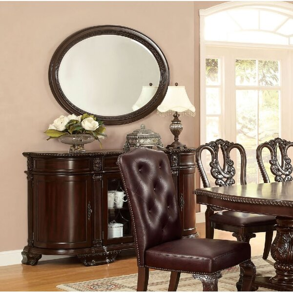 Wisdom Accent Mirror by Astoria Grand