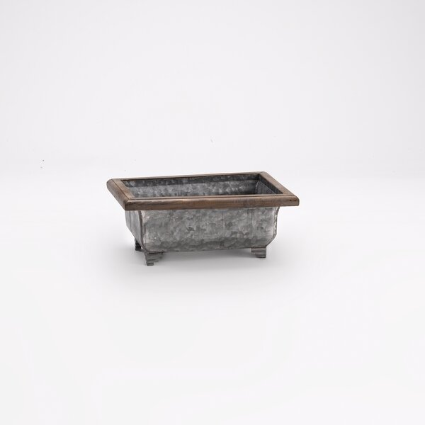 Sherwin Rectangle Metal Planter Box by Williston Forge