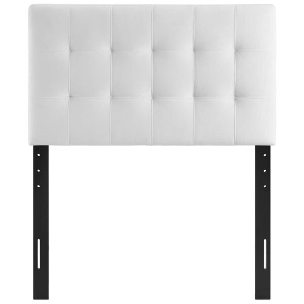 Wykoff Twin Upholstered Panel Headboard by Mercer41
