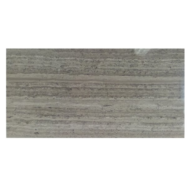 6 x 12 Natural Stone Field Tile in Wood Ash by Mulia Tile