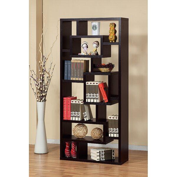 Osian Creative Office Home Utility Geometric Bookcase By Ebern Designs