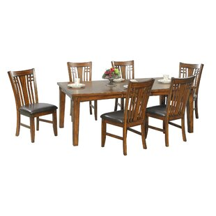 Schueller 5 Piece Extendable Solid Wood Dining Set by DarHome Co
