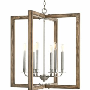 Daugherty 6-Light Foyer Pendant