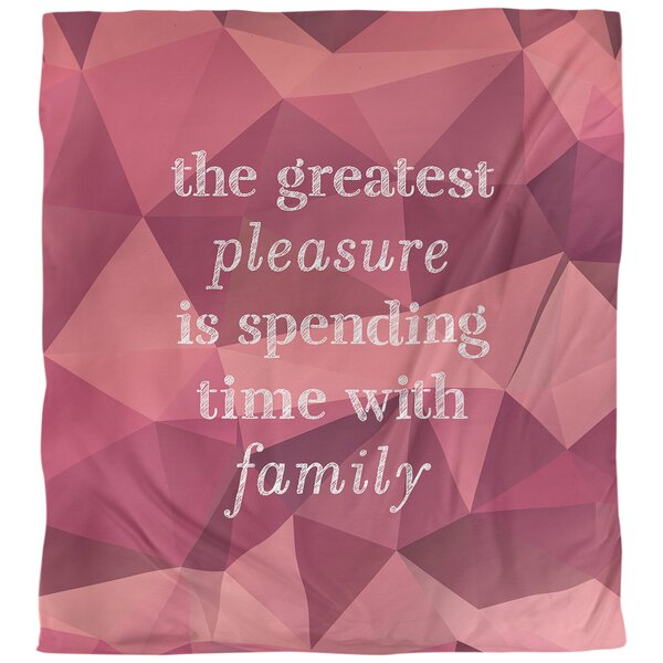 Quotes Faux Gemstone Love Family Single Reversible Duvet Cover