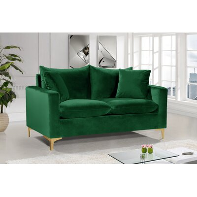 Green Velvet Loveseats You Ll Love In 2020 Wayfair