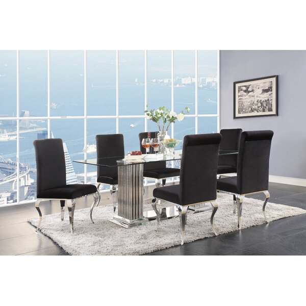 Stevan 7 Piece Dining Set by House of Hampton