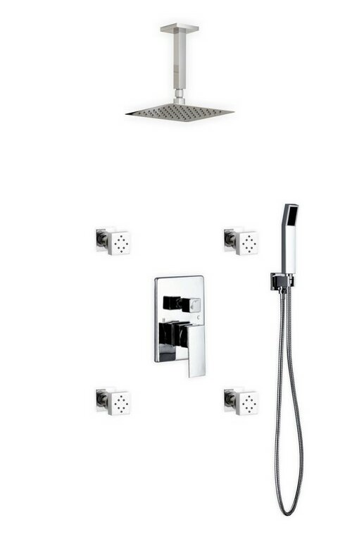 Cahoon Rain Shower Head Complete Shower System