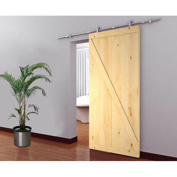 Top Mount Wood Interior Barn Door by Calhome