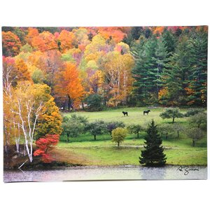 'Killington Vermont' Painting Print on Canvas by Loon Peak