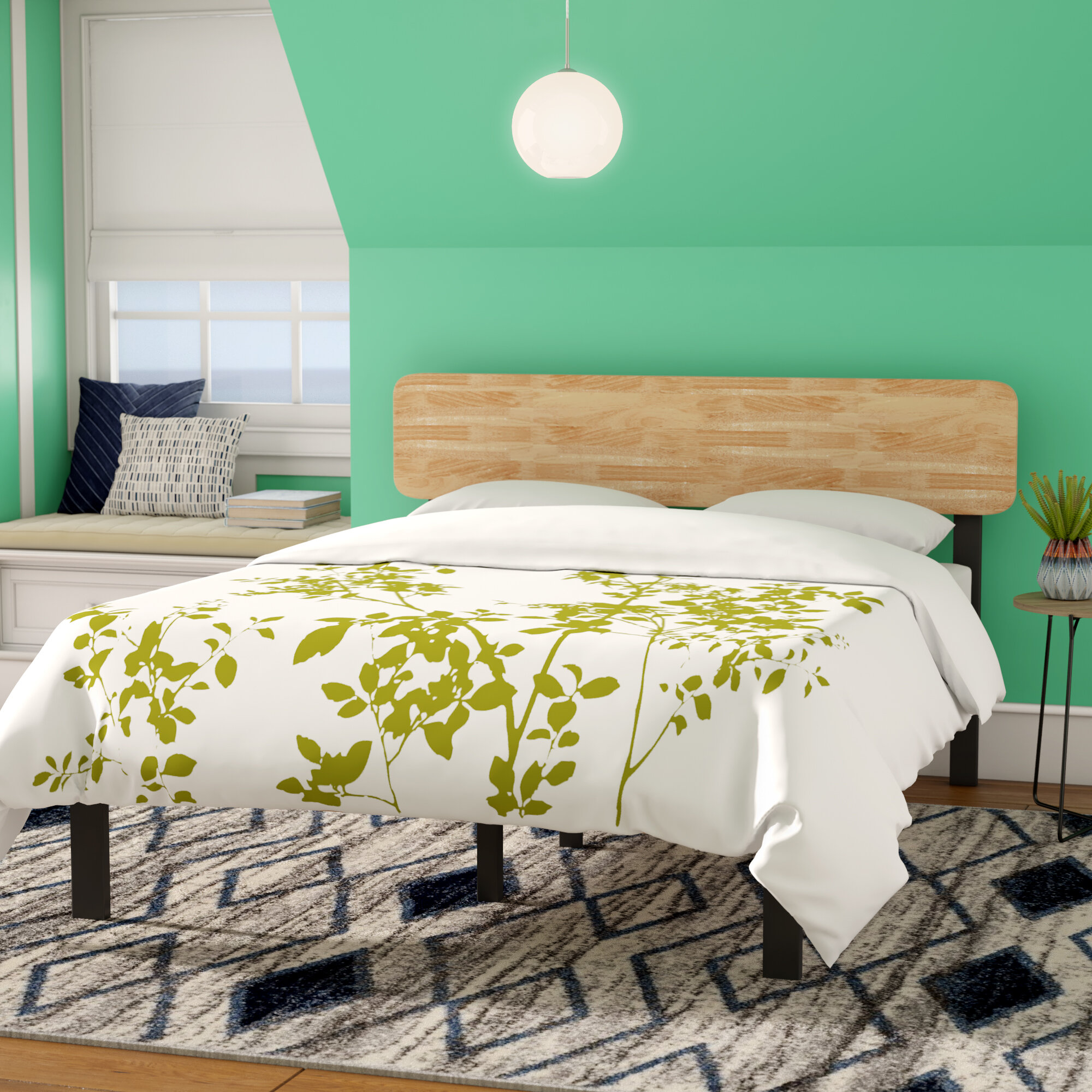 Zipcode Design Ursula Platform Bed Reviews Wayfair