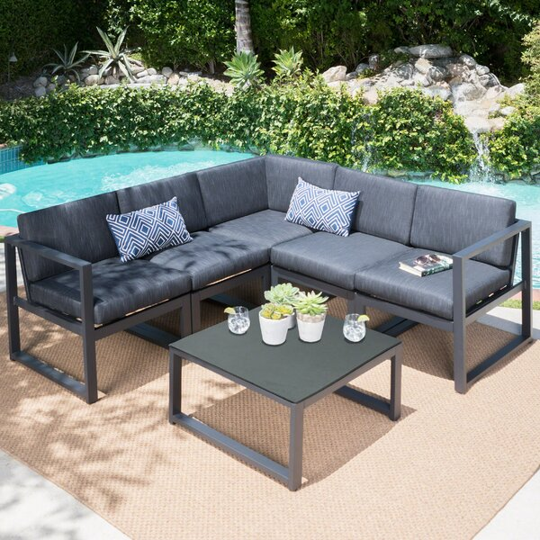 Dimatteo 6 Piece Sectional Set with Cushions by Ivy Bronx