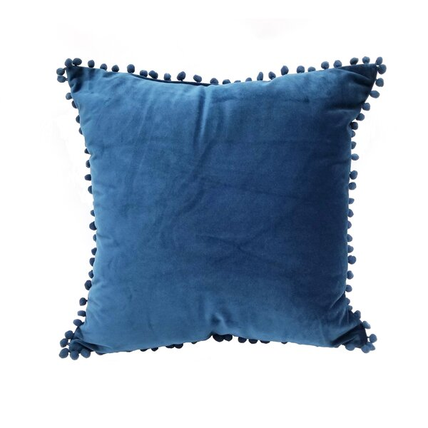 Ring Pompom Throw Pillow by World Menagerie