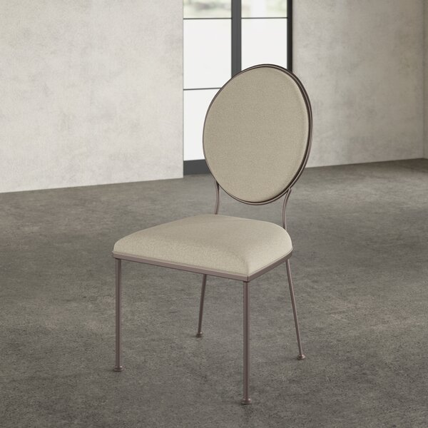 Cairo Oval Back Upholstered Dining Chair (Set Of 2) By Greyleigh