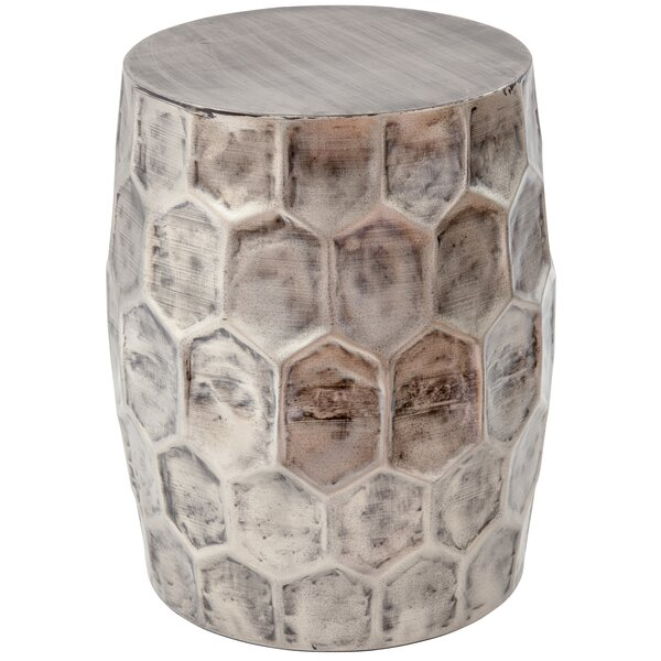 Ohalloran Honeycomb Accent Stool by Bloomsbury Market