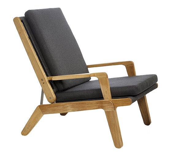 Skagen Teak Patio Chair with Cushions by OASIQ