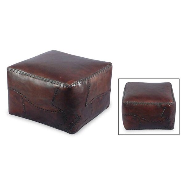 Atlantic Leather Ottoman Slipcover by Loon Peak
