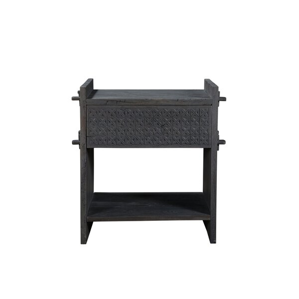 Polston 1 Drawer Nightstand By Bloomsbury Market by Bloomsbury Market Modern