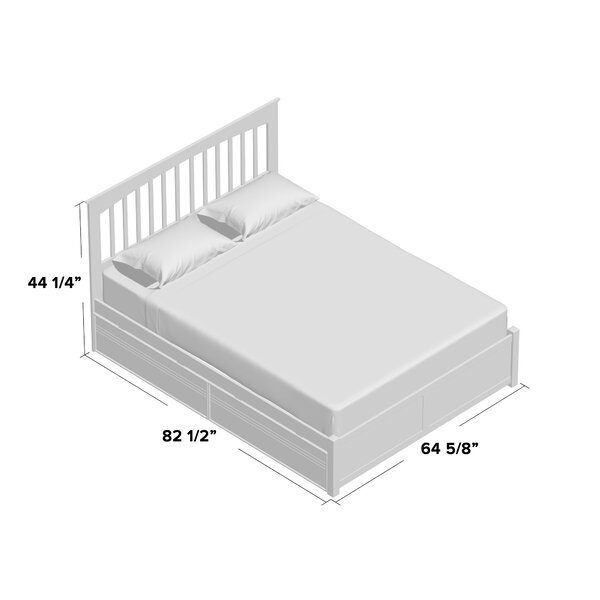 Arkwright Storage Platform Bed by Andover Mills