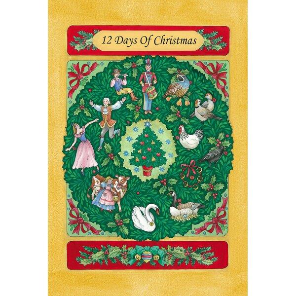 Twelve Days Of Christmas Garden flag by Toland Home Garden