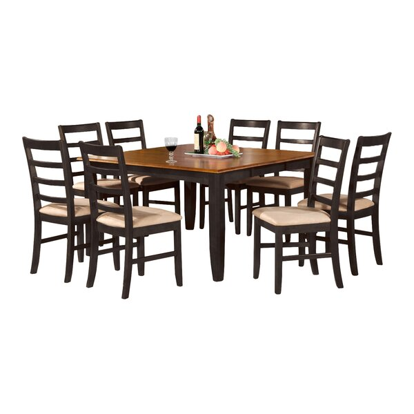 Find Parfait 9 Piece Dining Set By Wooden Importers 2019 Sale