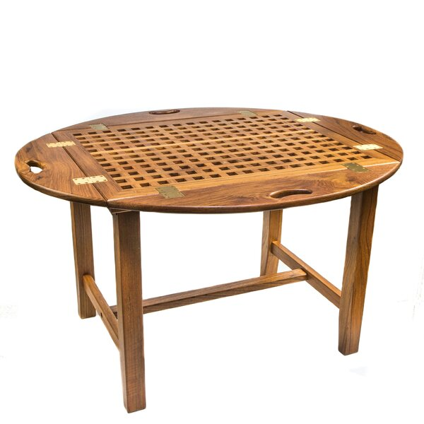 Butler Teak Folding Dinning Table by Whitecap Teak
