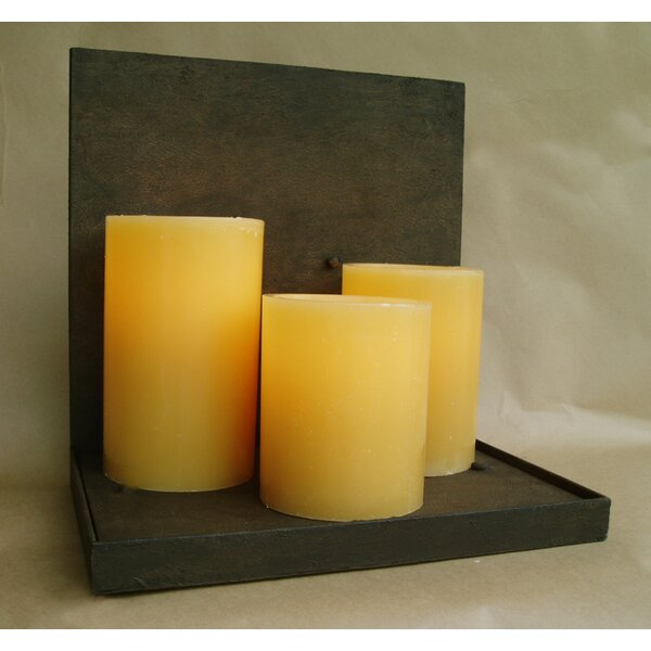 Mallorca Triple Hollowed Candle 3-Light Flush Mount by Laura Lee Designs