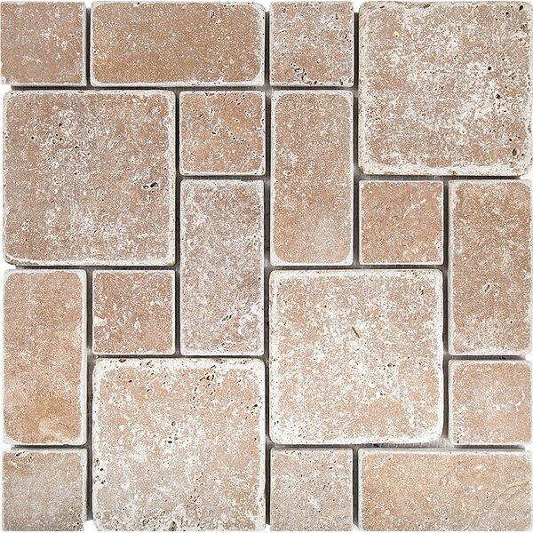 Noce 0.38 x 12 Natural Stone Mosaic Tile