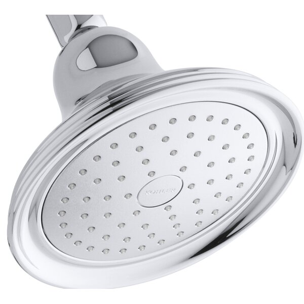 Devonshire 2.5 GPM Single-Function Wall-Mount Shower Head with Katalyst Air-Induction Spray by Kohler Kohler