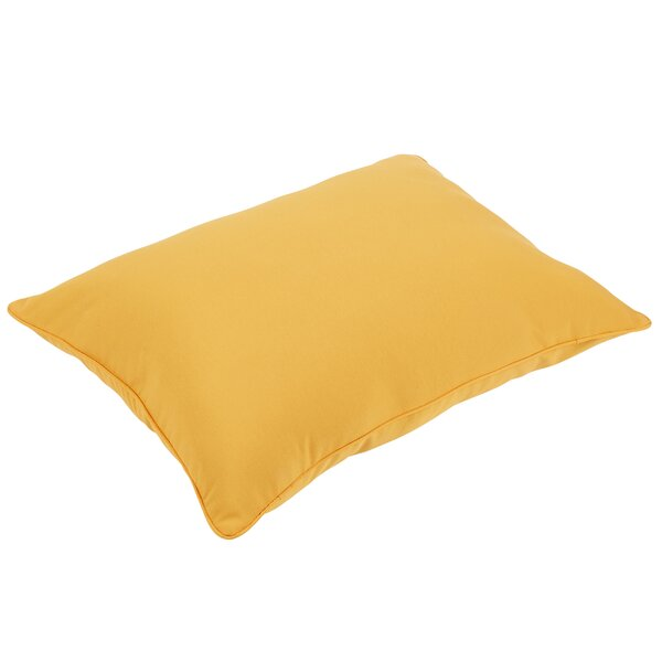 Woodsdale Piped Indoor/Outdoor Floor Pillow by Beachcrest Home