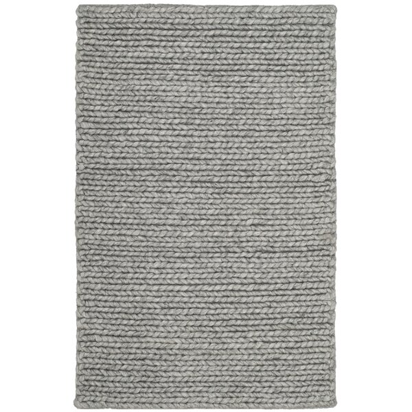 Newville Hand-Tufted Steel Area Rug by Gracie Oaks